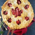 Easy Ruby Apple Pie (with a Secret Ingredient)
