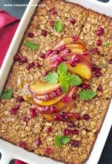 Make-Ahead Apple Spice Baked Oatmeal