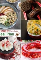 December Monthly Meal Plan -- #3