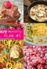 February Monthly Meal Plan -- #5