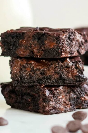 a pile of brownies for a meal plan