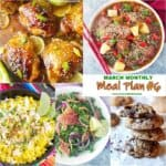 A bunch of different types for March meal plan