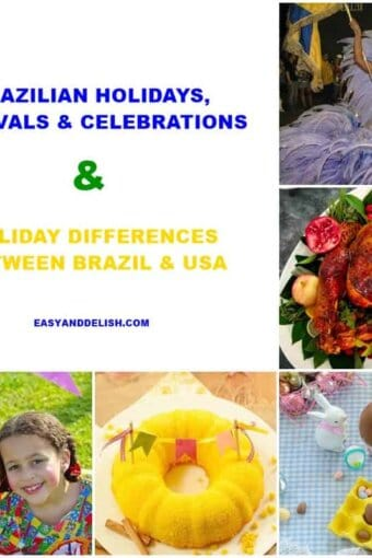 collage of Brazilian holidays, festivals, and celebrations