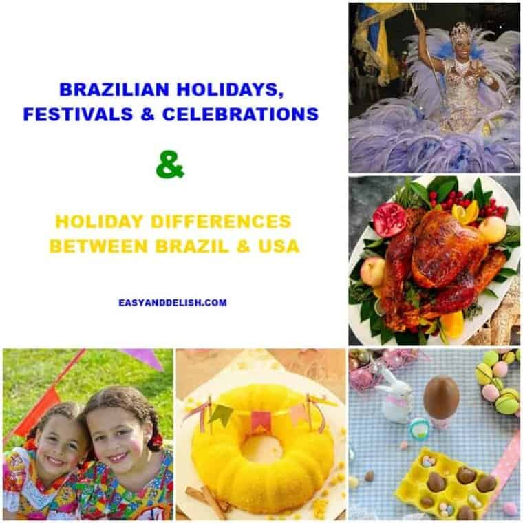 photo collage of Brazilian holidays, festivals, and celebrations