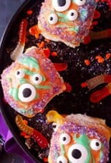 Funny Monsters Pumpkin Bread Rolls