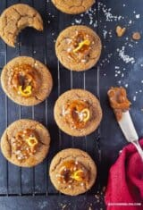 Salted Dulce de Leche Cinnamon Cookies Recipe