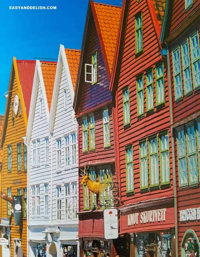Bergen and Hanseatic League Buildings