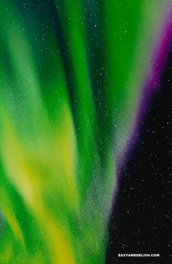The Aurora Borealis or Northern Lights -- one of the things to do in Norway on a budget