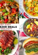 85+ Easy Freezer Meals To Make Ahead on a Budget