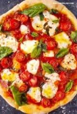 Best Homemade Margherita Pizza Recipe (5 Ingredients)