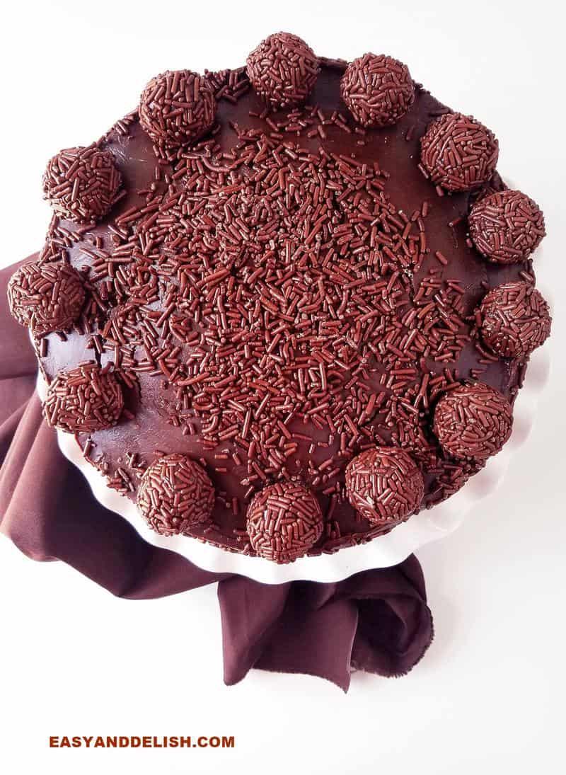 whole brigadeiro cake