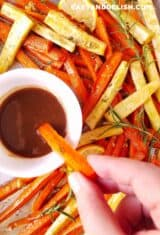 Roasted Carrots and Parsnips (One Sheet Pan)
