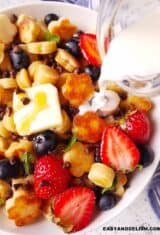 Tik Tok Mini Pancake Cereal Recipe (Oven/Baked)