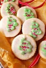 Coconut Sugar Cookies with Sprinkles