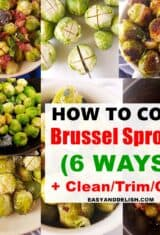 How to Cook Brussels Sprouts (6 Ways)