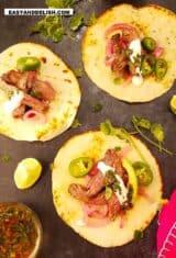 Carne Asada Tacos with Marinated Skirt Steak Recipe