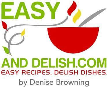 Easy and Delish logo