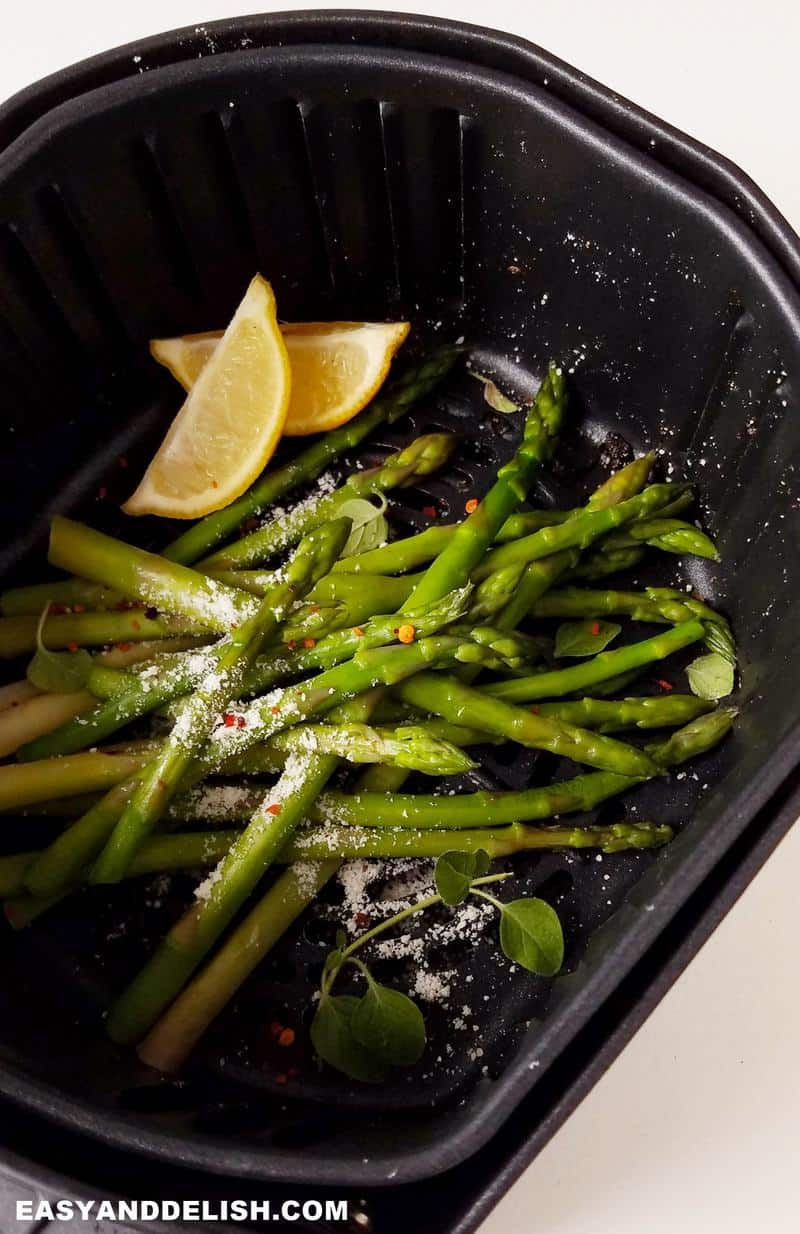 aspargos na air fryer